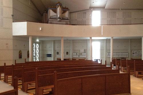sankt pauls kirke tåstrup